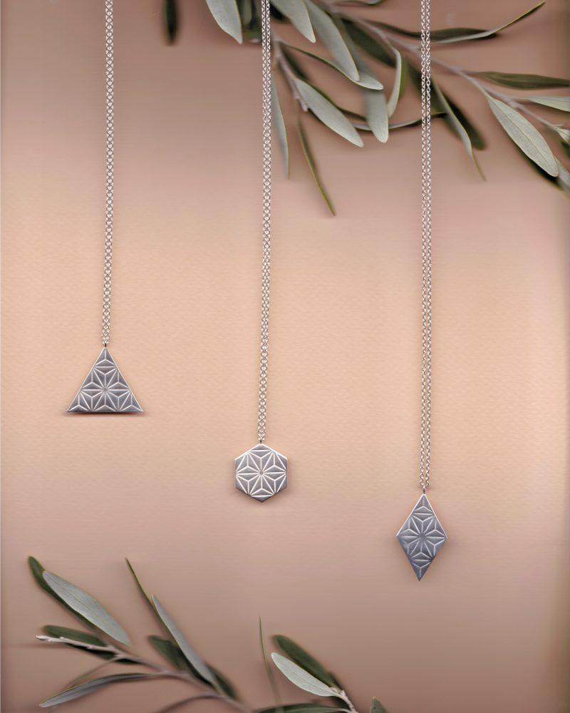 Silver necklace - sumika, ikumi, narumi